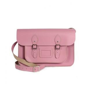 """Kabelka Satchel 12,5"""", Vintage Pink"""