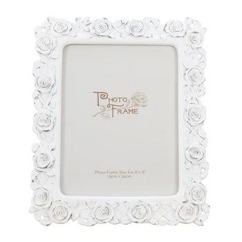 Ramă foto Mauro Ferretti Rose, 15 x 20 cm, alb de la Mauro Ferretti