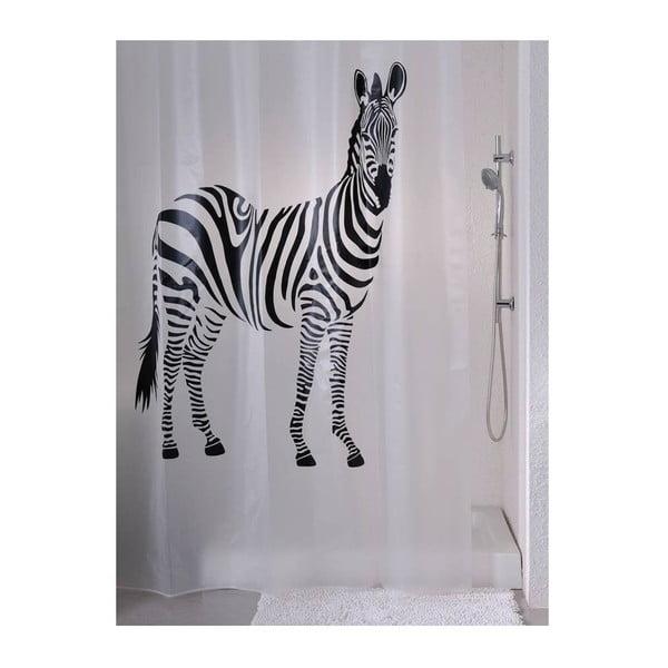 Sprchový závěs Zebra, 180x180 cm