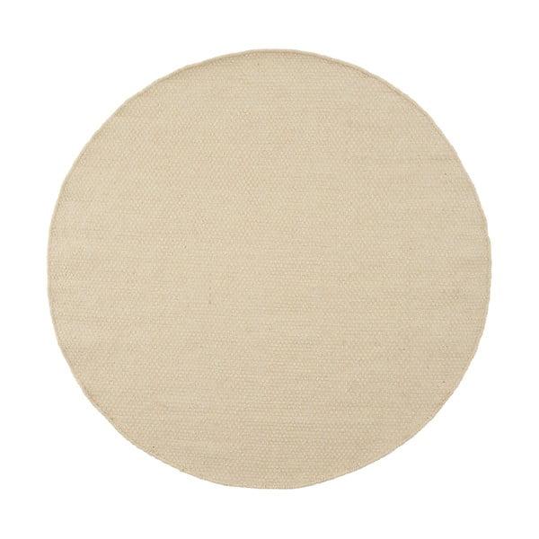Vlněný koberec Asko White, 90 cm