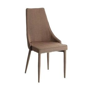Hnědá židle Ixia Abbi