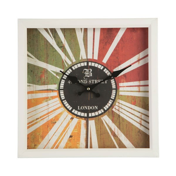 Nástěnné hodiny Bond Street, 33x33 cm