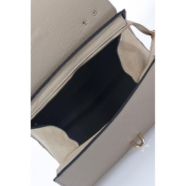 Kožená kabelka Paytona, taupe