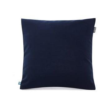 Față de pernă decorativă Mumla Velvet, 45 x 45 cm, albastru închis