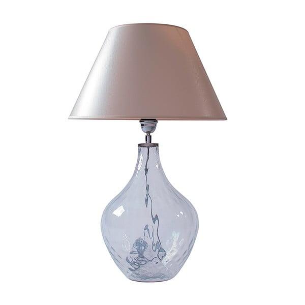 Stolní lampa Čiré sklo