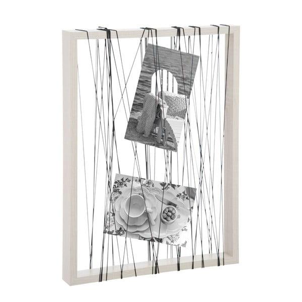 Fotorámeček Rope White, 31x41x4 cm