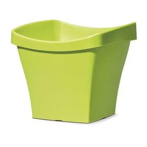 Venkovní květináč Living 50 cm, zelený