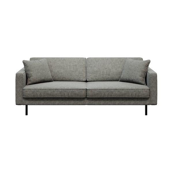 Canapea cu 3 locuri MESONICA Kobo, gri