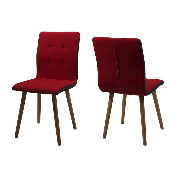 Jídelní židle Frida, červená