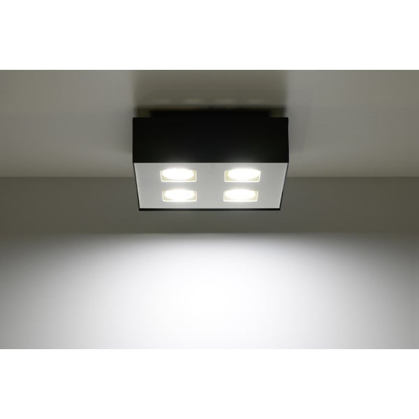 Černé stropní světlo Nice Lamps Hydra4