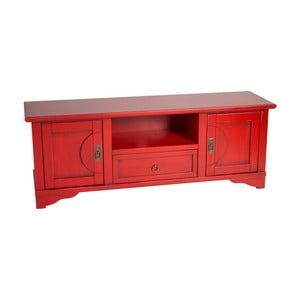 Červený TV stolek Evergreen House Credenza