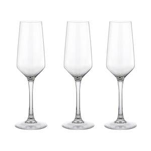 Sada 3 sklenic na šampaňské Vinium, 21 cl