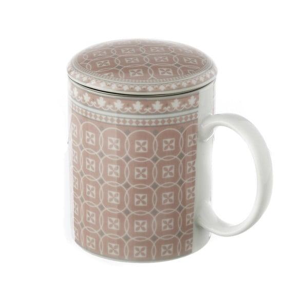 Casă cu sită pentru ceai Unimasa Cover, roz