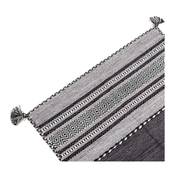 Ručně tkaný koberec Kilim Tribal 102, 90x60 cm