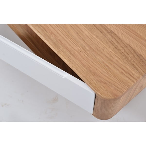 Televizní stolek z dubového dřeva Gazzda Ena, 225x42x45cm