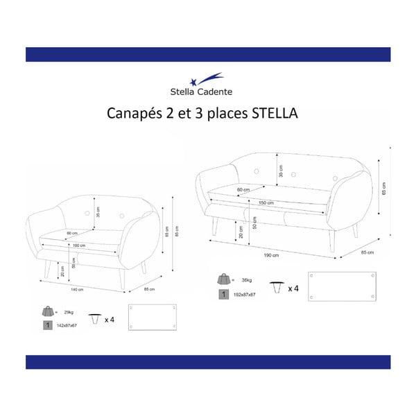 Canapea Scandi by Stella Cadente Maison, verde măslină