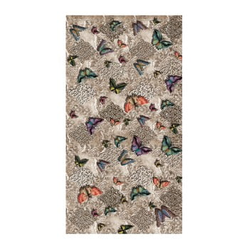 Covor rezistent Vitaus Butterfly Touch, 80 x 170 cm de la Vitaus