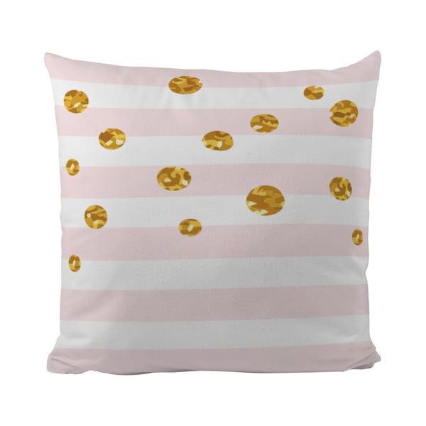 Polštář Gold Bubble, 50x50 cm