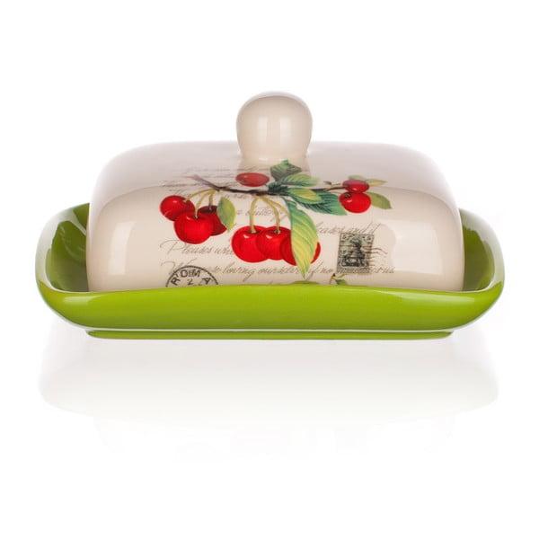 Keramická máslenka Banquet Cherry, 17,5 cm