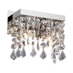 Nástěnné světlo Crido Crystals Chrome