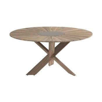 Masă de grădină din lemn de tec Hartman Provence, ø 150 cm