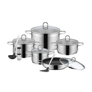 Set pentru bucătărie din 13 piese din oțel inoxidabil WMF Cromargan® Diamant