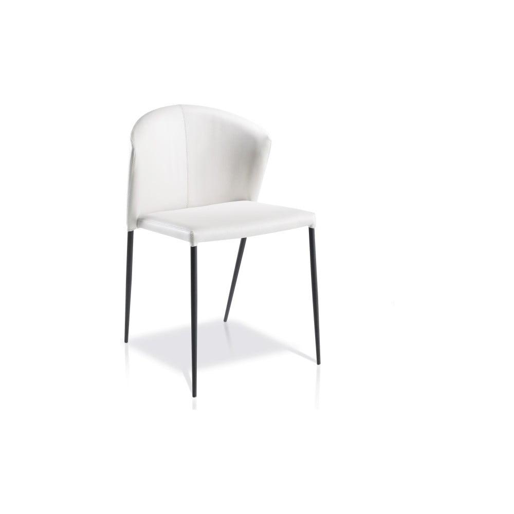 Bílá jídelní židle Ángel Cerdá Ivette
