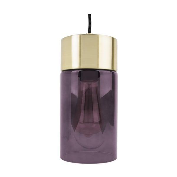 Fialové závěsné svítidlo Leitmotiv LAX