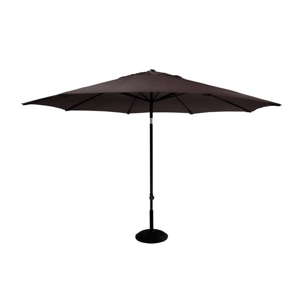 Umbrelă de grădină Hartman Solar, ø 300 cm, maro