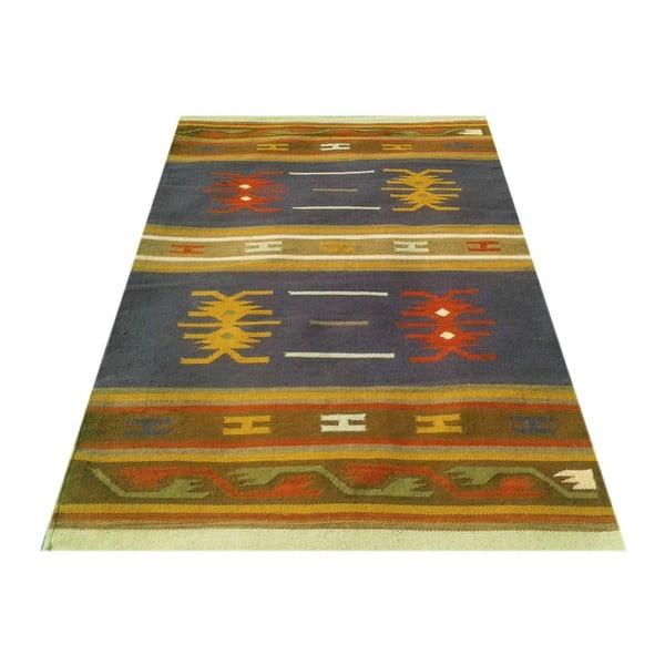 Ručně tkaný koberec Kilim Pratim, 120x180cm