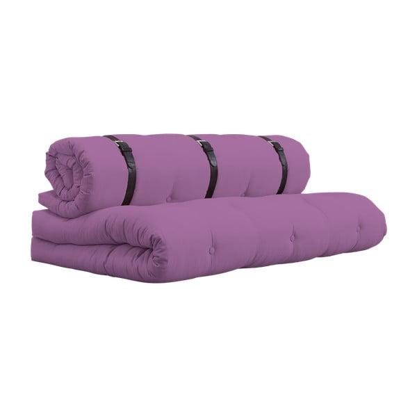 Variabilní pohovka s koženými pásky Karup Buckle Up Taffy Pink