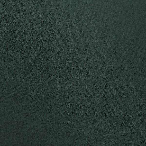 Tmavě zelená trojmístná pohovka Vivonita Chesterfield Petrol