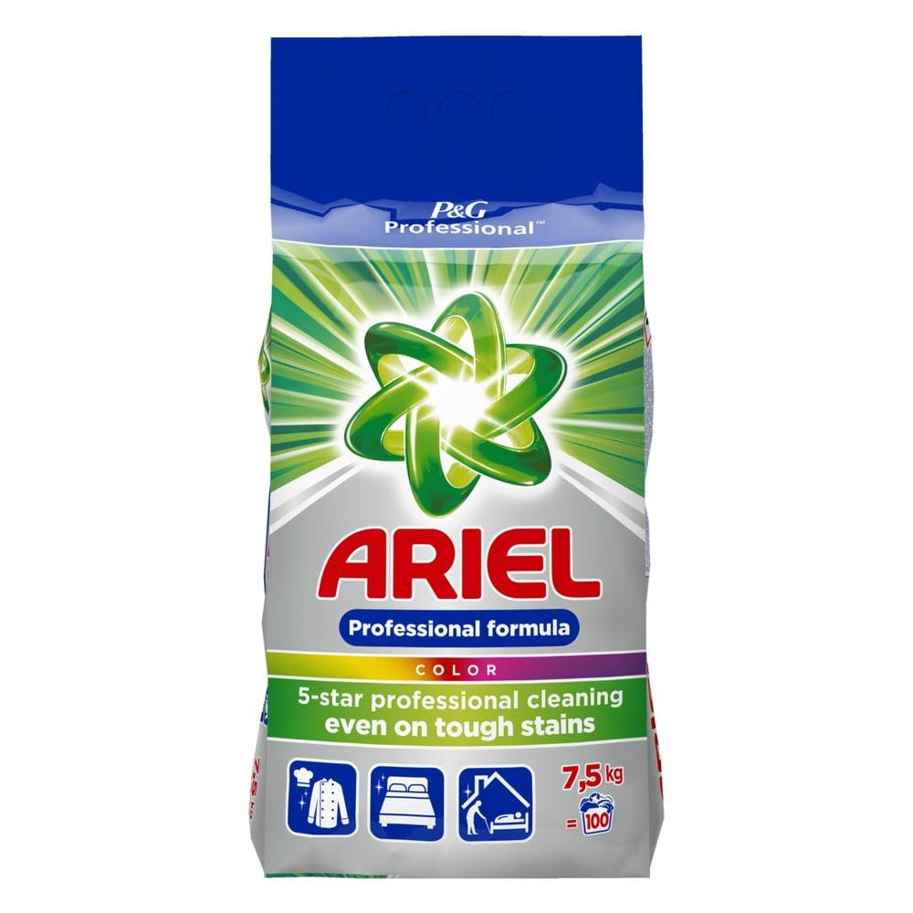 Rodinné balení pracího prášku Ariel Professional Color, 7,5 kg (100 pracích dávek)