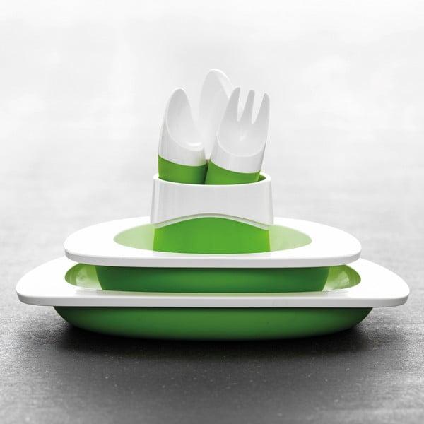 Dětská miska, zelená