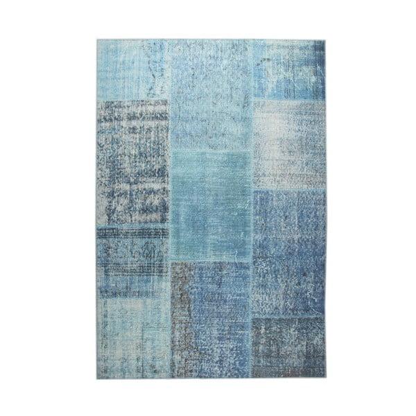 Eko Rugs Oina kék szőnyeg, 140 x 200 cm