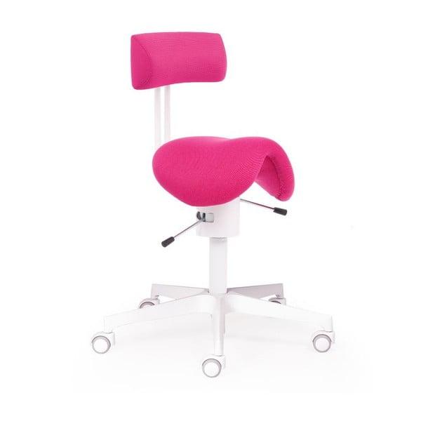 Kancelářské křeslo Ergo Flex WT, růžové