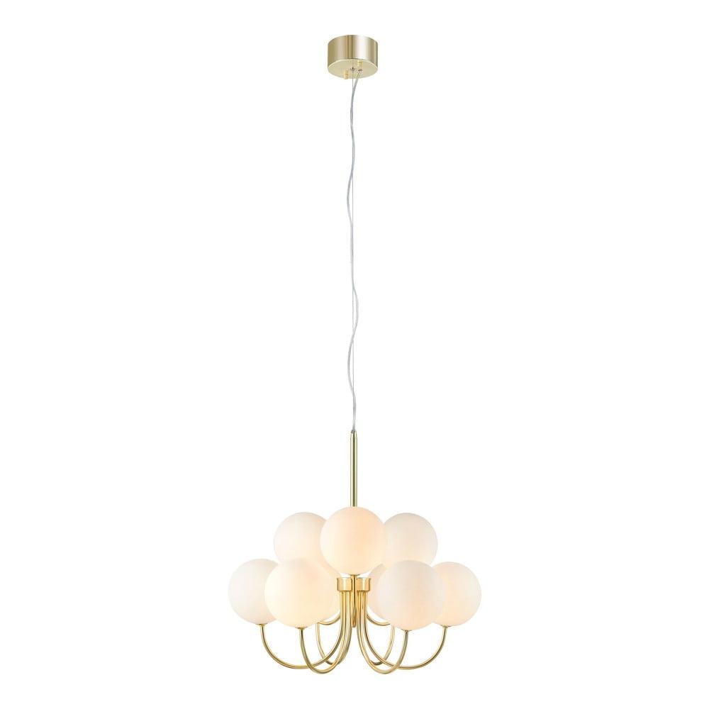 Závěsné svítidlo ve zlaté barvě Markslöjd Bianco Pendant 9L