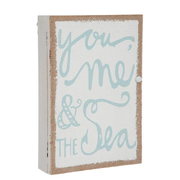 Nástěnná skříňka na klíče You Sea, 30x20x6 cm