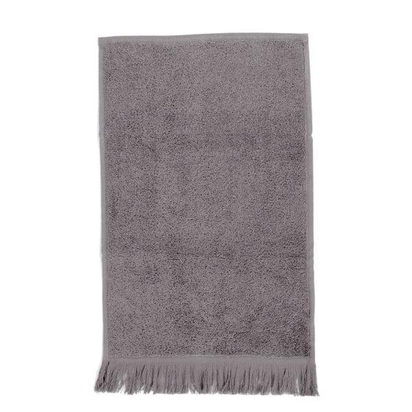 Sada 6 šedých bavlněných ručníků Casa Di Bassi Soft, 30x50cm