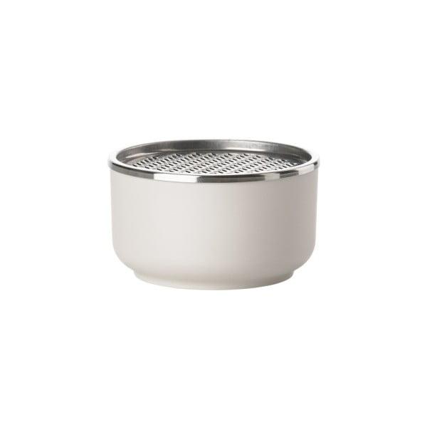 Biela miska so strúhadlom Zone Peili Strainer, 500 ml