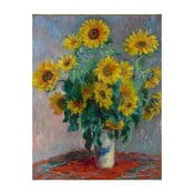 Obraz Claude Monet - Bouquet of Sunflowers , 50 x 40 cm