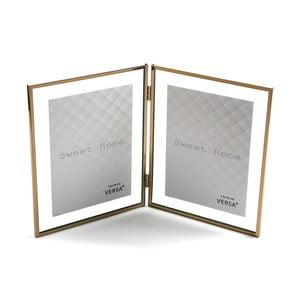 Dvojitý fotorámeček VERSA, na fotografii 13 x 18 cm