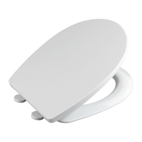 Capac WC din termoplast Wenko Tilos, alb