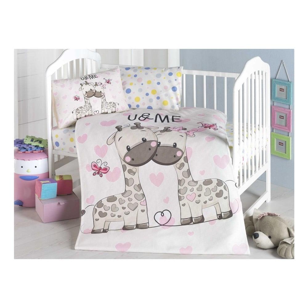 Dětský přehoz přes postel Sweet, 95 x 145 cm