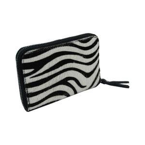 Peněženka z pravé hovězí kůže se vzorem Andrea Cardone Zebra