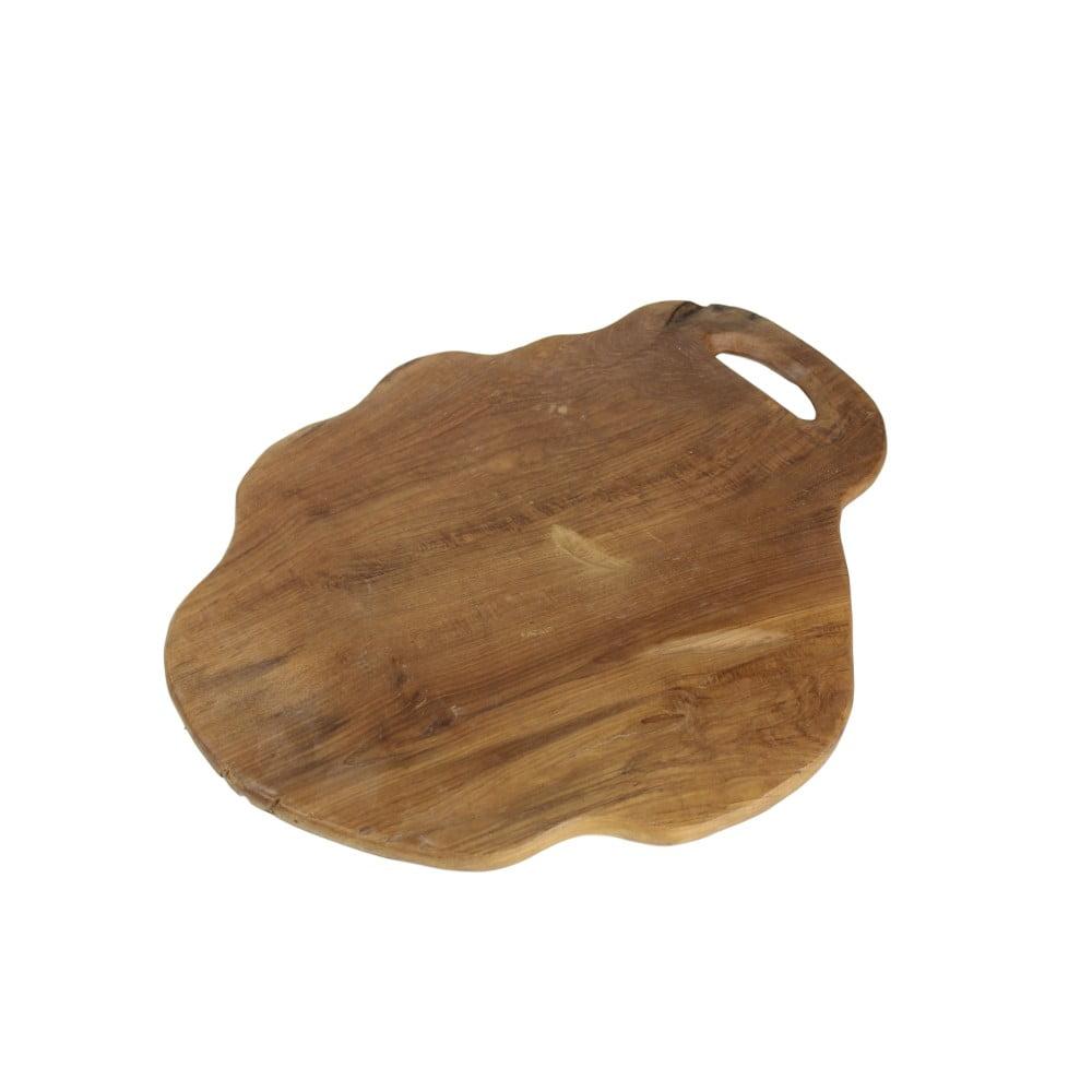 Krájecí prkénko z teakového dřeva HSM Collection Flate L