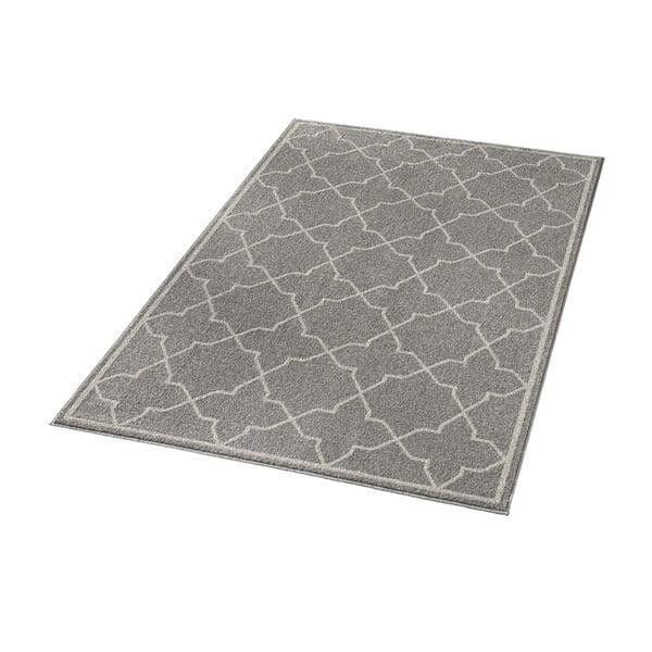 Šedý koberec Chateau Viva, 70x140 cm