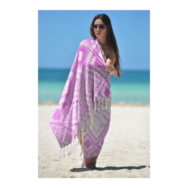 Prosop hammam Vive Purple, 95x180 cm