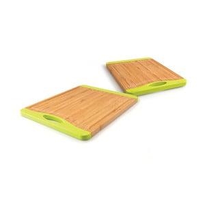 Set 2 krájecích bambusových podložek I