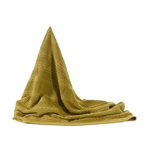 Pletená deka Greeny, 130x170 cm